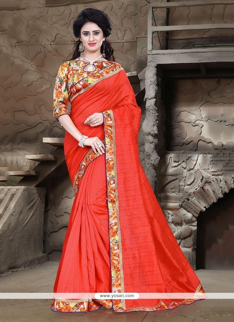 Invaluable Bhagalpuri Silk Printed Saree
