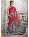 Desirable Print Work Multi Colour Printed Saree