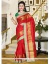 Especial Print Work Silk Casual Saree