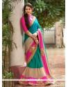 Phenomenal Art Silk Embroidered Work Classic Saree