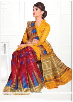 Lovable Cotton Print Work Printed Saree