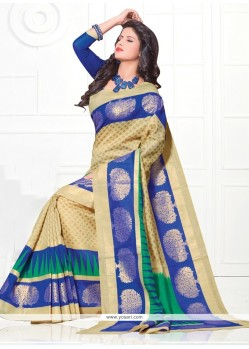 Enthralling Silk Multi Colour Casual Saree