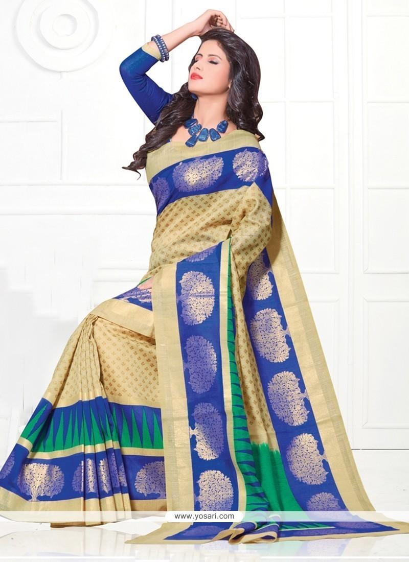 Enthralling Silk Multi Colour Casual Saree