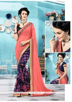 Ravishing Printed Saree For Party