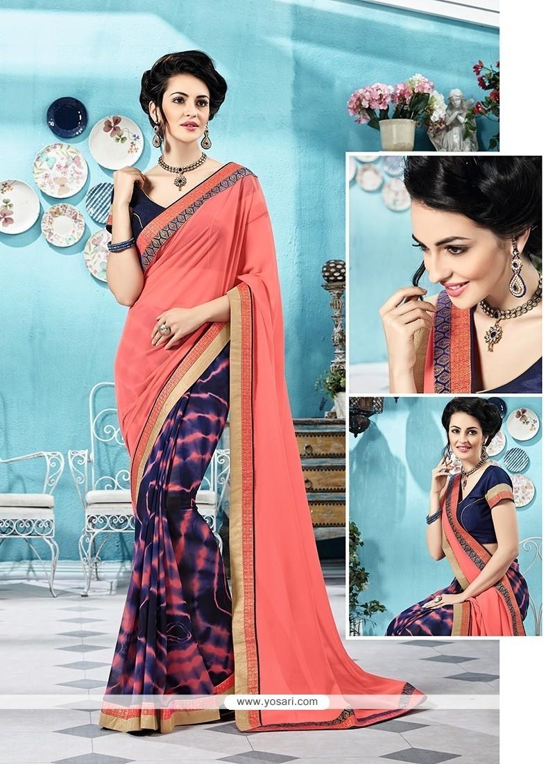 Ravishing Printed Saree For Party
