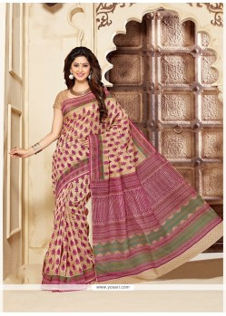 Fine Multi Colour Casual Saree