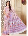 Ethnic Cotton Multi Colour Casual Saree