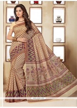 Winsome Multi Colour Casual Saree