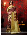 Absorbing Weaving Gold Classic Saree