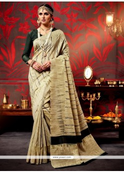 Surpassing Weaving Patch Border Work Classic Designer Saree