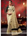 Surpassing Weaving Patch Border Work Classic Designer Saree