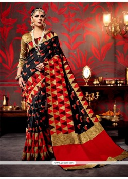 Zesty Patch Border Work Designer Saree