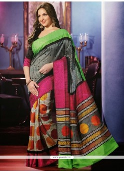 Splendid Multicolor Art Silk Casual Saree