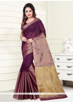 Sophisticated Art Silk Multi Colour Casual Saree