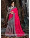 Modern Art Silk Embroidered Work Trendy Saree