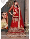 Lively Patch Border Work Designer Lehenga Choli