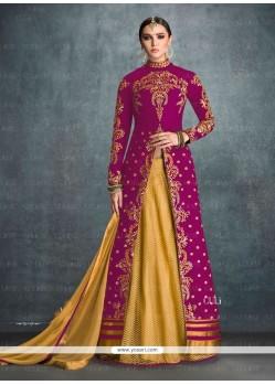 Appealing Embroidered Work Banglori Silk Designer Lehenga Choli