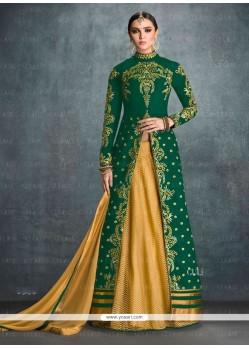 Auspicious Green Designer Lehenga Choli