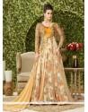 Sensational Embroidered Work Net Floor Length Anarkali Salwar Suit