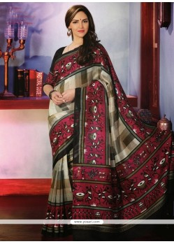 Glorious Multicolor Art Silk Saree