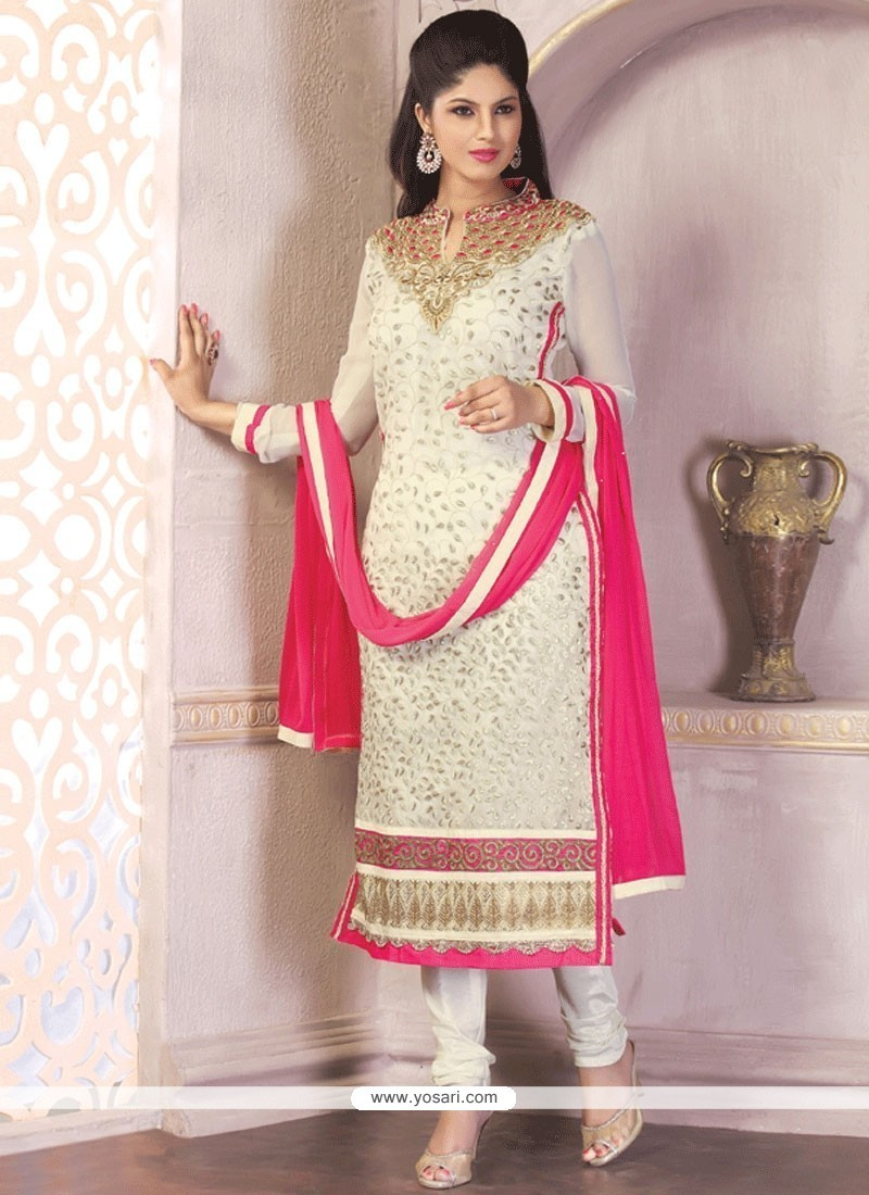 Pleasance Georgette Churidar Designer Suit