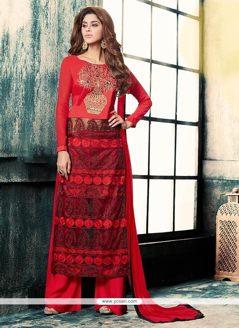 Perfect Georgette Designer Palazzo Salwar Kameez