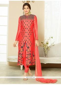 Sorcerous Pink Churidar Designer Suit