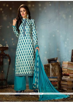 Regal Cotton Print Work Designer Palazzo Salwar Suit