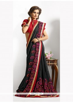Surpassing Georgette Classic Designer Saree