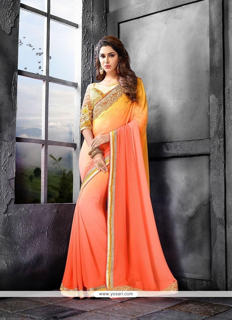 Haute Designer Saree For Ceremonial
