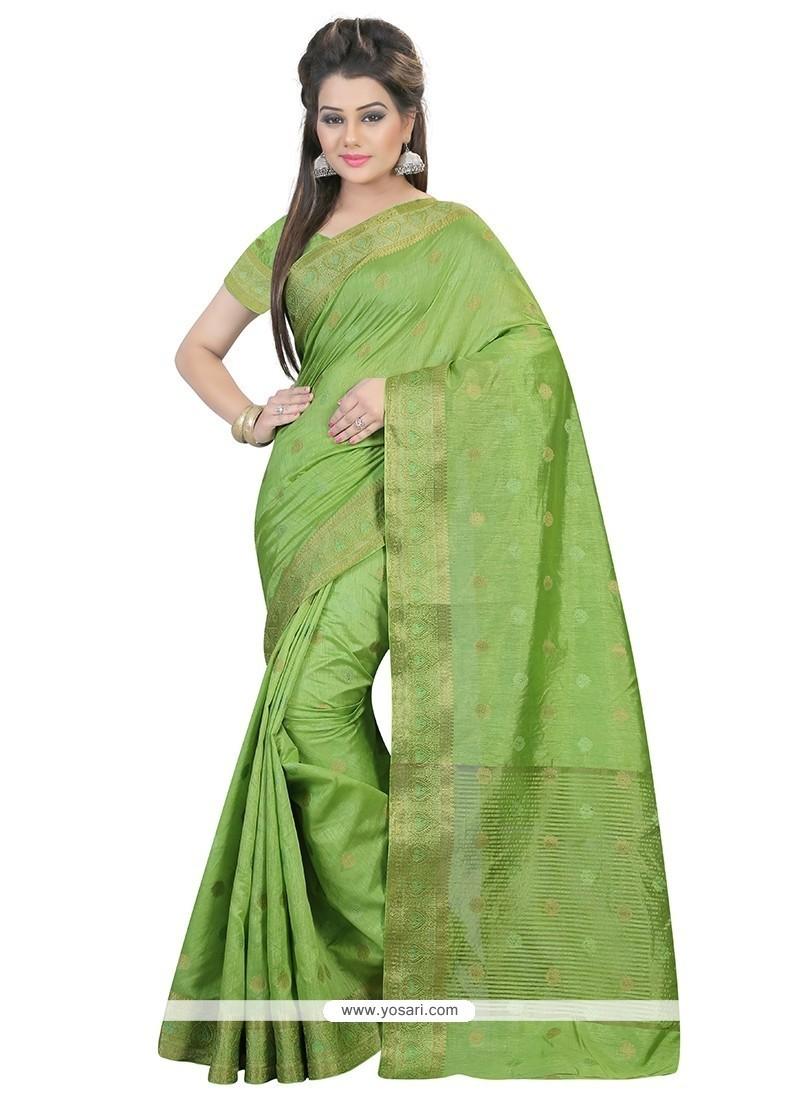 Thrilling Art Silk Classic Saree