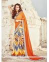 Regal Multi Colour Printed Saree