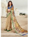 Trendy Multi Colour Printed Saree