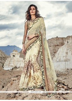 Precious Print Work Georgette Printed Saree