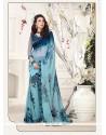 Mesmerizing Georgette Multi Colour Print Work Printed Saree