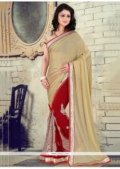 Subtle Lycra Classic Designer Saree