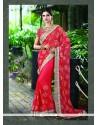 Ethnic Net Embroidered Work Classic Designer Saree