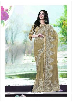 Noble Satin Trendy Saree