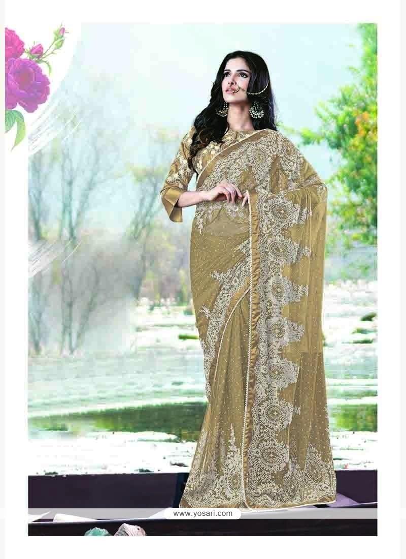Noble Satin Trendy Saree
