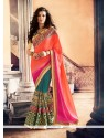 Dignified Patch Border Work Trendy Saree