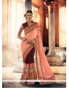 Conspicuous Patch Border Work Designer Traditional Sarees