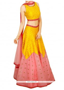 Spectacular Embroidered Work Designer Lehenga Choli