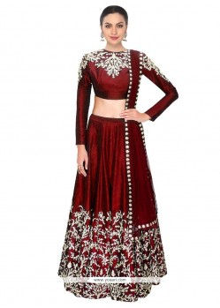 Tiptop Embroidered Work A Line Lehenga Choli