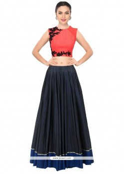 Voguish Embroidered Work Designer Lehenga Choli