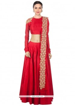 Swanky Designer Lehenga Choli For Wedding