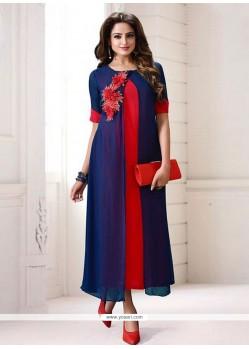 Wonderous Blue Designer Kurti