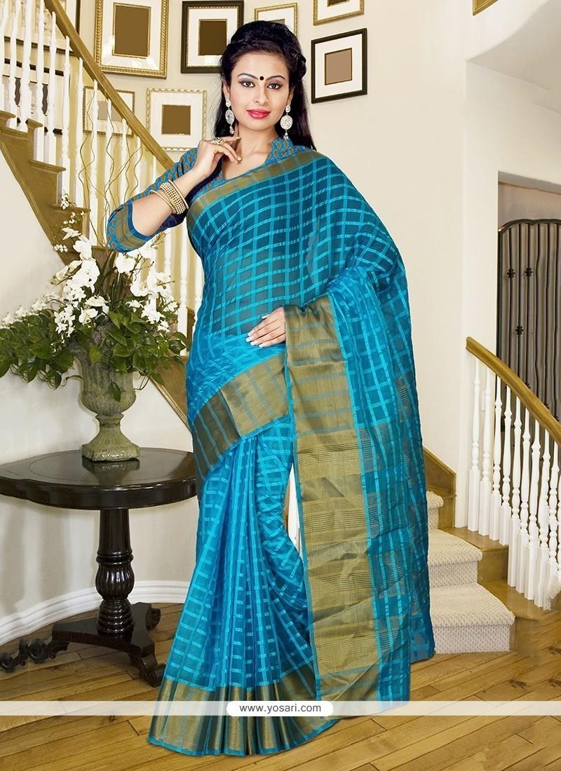 Mesmeric Silk Trendy Saree