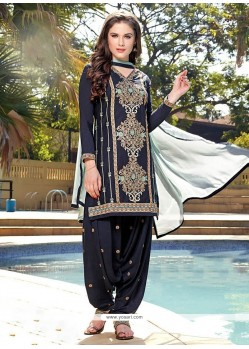 Sightly Cotton Designer Patiala Salwar Kameez