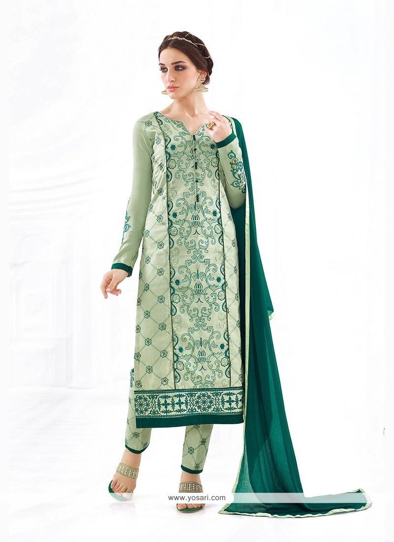 Lovable Cotton Churidar Designer Suit