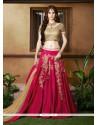 Masterly Silk Resham Work A Line Lehenga Choli